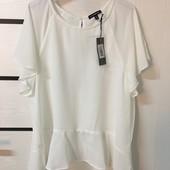 ☘ Лот 1 шт ☘ Шовковиста блуза легка тканина Our Heritage (Англія), рр. наш 48: xl євро