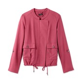 ☘ Куртка-вітровка ягідного кольору в стилі casual від Tchibo (Німеччина), р.наші: 46-48 (40 євро)