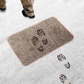 """Коврик для прихожей и ванной """"ни следа"""" (Clean Step Mat) суперпоглощающий коврик из микрофибры ("""