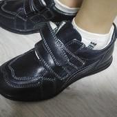 Кожаные туфли для деток 26-31рр
