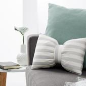 ☘ Лот 1 шт☘ Декоративна смугаста подушка від Tchibo (Німеччина), 23 х 33 см
