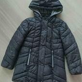 Стоп! Демісизонна фірмова куртка для дівчинки  Primark 6-7р.в ідеалі!
