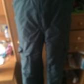 брюки, комбинезон, деми, мембрана, р. 152 см, Brugi. состояние хорошее
