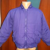 Куртка Деми Утепленная внутри на флисе,на рост 110,фирмы Friends