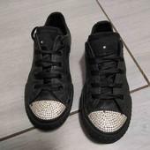 Кеды кроссовки от Converse. Носки со стразами. Стелька 20,5
