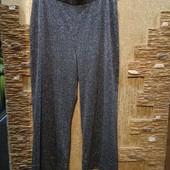 Шикарные нарядные плотненькие серебряные брюки стрейч Новые Акция читайте