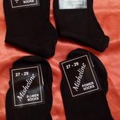 Носки классические чёрные. Лот 5пар