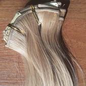 Трессы #27 искусственные волосы на заколках