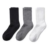 Лот 3 пары Спортивные носки с утепленной стопой серии актив от Tchibo (германия) размер 35-38