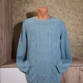 Собираем лоты!!мягкий шерстяной свитерок, размер м(14-16)