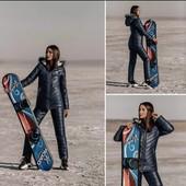 нові зимові лижні костюми 42 i 44 чорний на вибір
