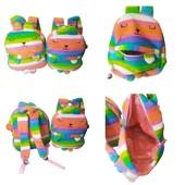 Детский мягкий рюкзак - игрушка ! Супер качество! Размер 32* 28*12 см