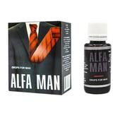 Капли Alfa Man для потенции. Оригинал Бразилия 30мл.