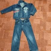 Куртка джинсовая на 5 лет