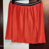 Яркая плиссированная юбка от Marks & Spenser, 13л