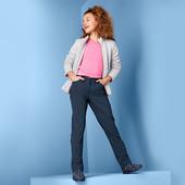 ☘ Зручні м'які теплі штани з софтшелла, Clima, просочення ecorepel Tchibo (Німеччина), р .: 170/176