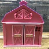 Оооочень много лотов !игрушечный домик/стайня/ферма
