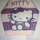 Весенняя Шапка Hello Kitty~♪