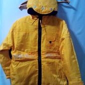 Нові.( сток ) Демісезонна курточка на тоненькому синтипоні ріст.;152 см. Заміри внизу. .