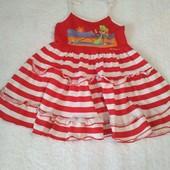 Красиве плаття на зав'язках для дівчинки на 3-4 р.
