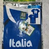 Футболка для футбола 158/164 Италия