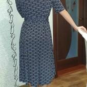 Платье на запах L-Xl Германия