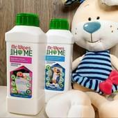 Кондиционер ( 500 мл) + жидкий стиральный порошок для детских вещей Mr. Wipes (500 мл)