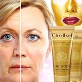 омолаживающая маска Cledbel 24K Gold - маска -пленка с лифтинг-эффектом