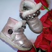 Ботиночки носили прошлой зимой по стельке- 17 см