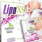 LipoX9 (Липо Икс9) вкусные саше для похудения !!!
