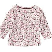 Реглан лонгслив lupilu германия на девочку 6-12 месяцев. замеры.