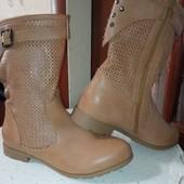 Супер!полу-сапожки(ботинки)весна-осень!очень класные.рр.40(25.5)новые.на широкую ногу.качество супер