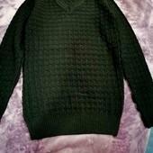 Новый мужской свитер, можно на подростка