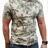 Стильная футболка Jack &Jones M, 100% хлопок