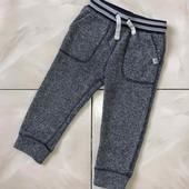 Стоп !❤ GAP,стильные трикотажные теплые штаники для мальчика,+-2 года❤ Много лотов!