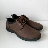 Туфли для мужчин, практичные, хорошо смотрятся на ноге, размер 40,41,44