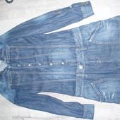 Фирменное джинсовое платье р.ХС-С
