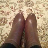 Демисезонные ботинки кожа bigRope, 38 размер