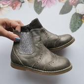 Ботинки челси 10размер + подарок кожаные сапожки