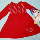 Красивое платье в горошек,на девочку 4-6 лет