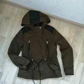 Куртка - парка/Zara/весна-осень /S!!!