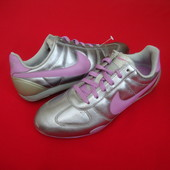 Кроссовки Nike Silver натур кожа оригинал 37-38 разм
