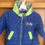 Куртка, ветровка, p. 3 года 98 cм, Zig&Zag. состояние отличное