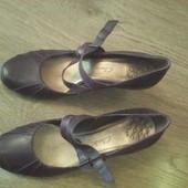 Кожаные туфли Сlarks