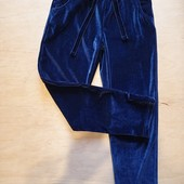 Спорт штаны велюр 134см