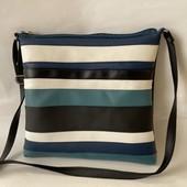Большая вместительная женская сумка кроссбоди