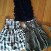 Платье для модниц 4-5лет. В лоте 3 шт.