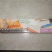 Lidl, Германия, сухая пастель для рисования набор 25 шт.