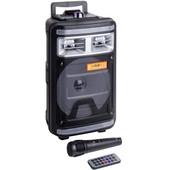 Портативная акустическая система QS-4000 с подсветкой+ микрофоном
