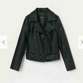 Куртка-косуха (байкерская куртка) Reserved для девочки 12-13 лет (158 см)